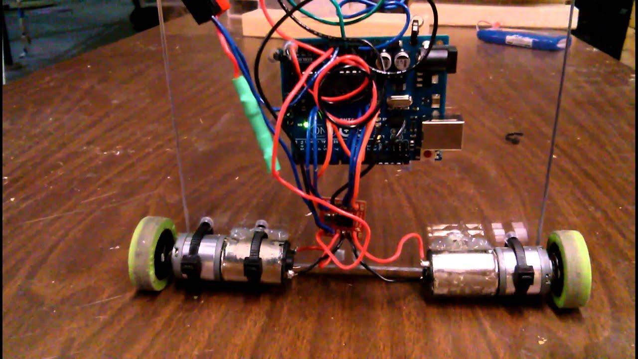 Stable pid self balancing robot doovi