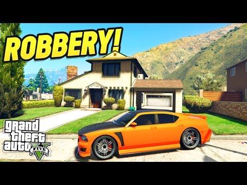THE HOME ROBBERY MOD! (GTA 5 Mods!)