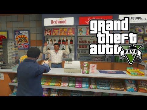 GTA 5: Quick & Easy Money - How To Rob Stores And Gas Statio