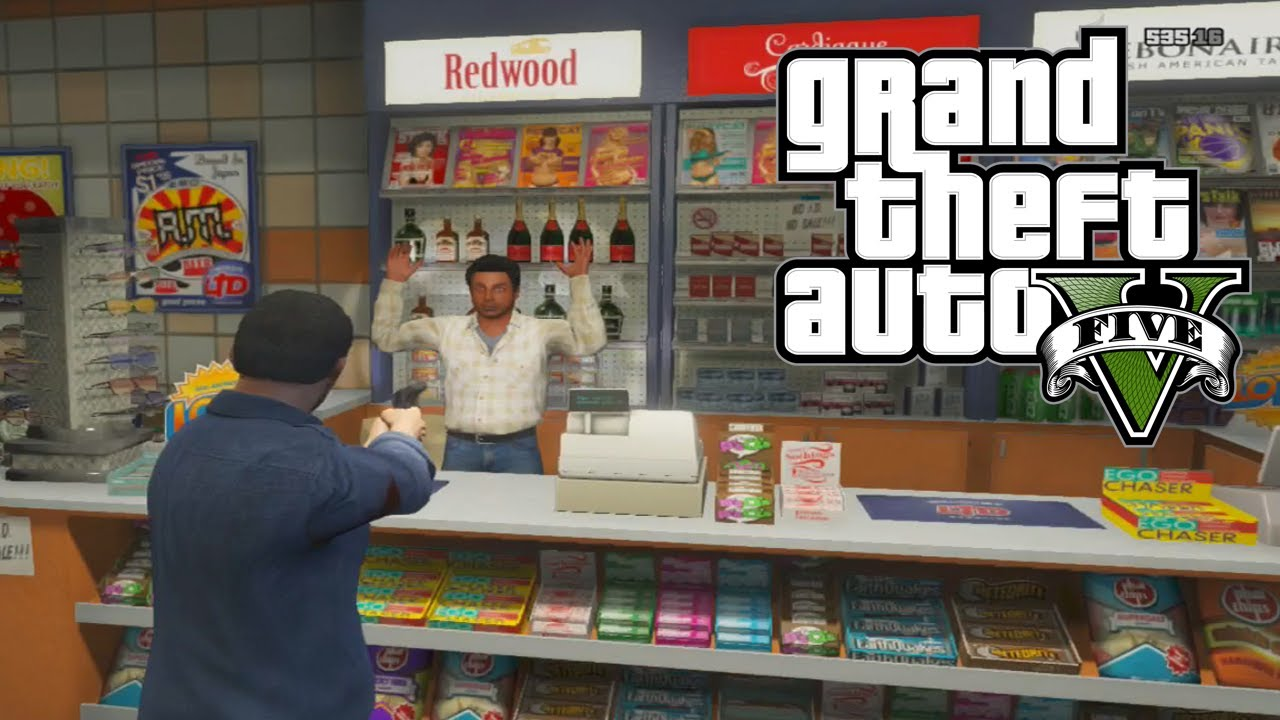 Man Cave Store Gta : Gta quick easy money how to rob stores and gas