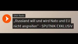 """Potsdamer Dialog"" Spannungsfeld Russland / EU / NATO (Sputniknews)"