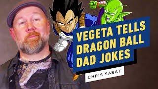 Vegeta Tells Dragon Ball Dad Jokes