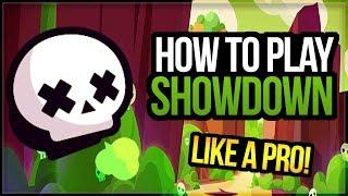 How To Play Showdown! Showdown Guide & Strategy w/ Top Player [Brawl Stars]