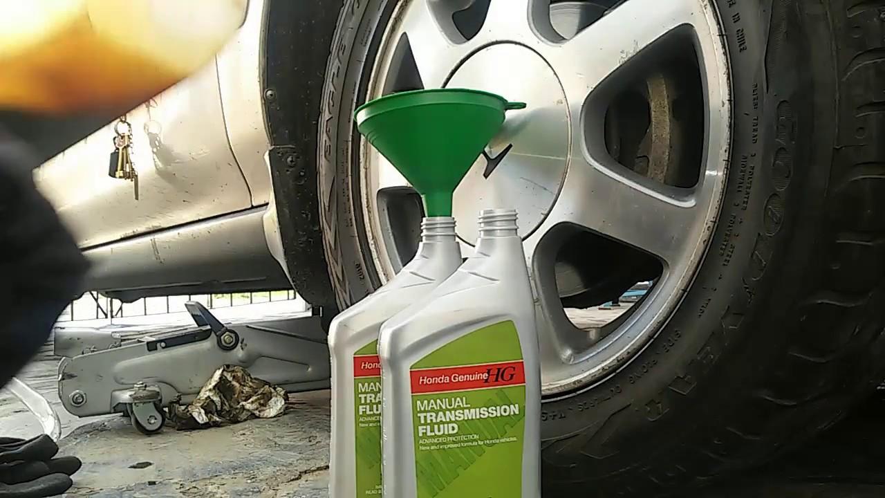 Honda Accord Manual >> Como cambiar aceite de caja manual en Honda Accord - YouTube
