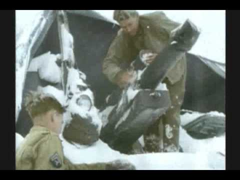 WWII BATTLE OF THE BULGE 2 of 3 RARE COLOR FILM