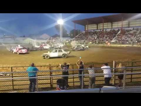 Sidney mt 2016 demolition derby