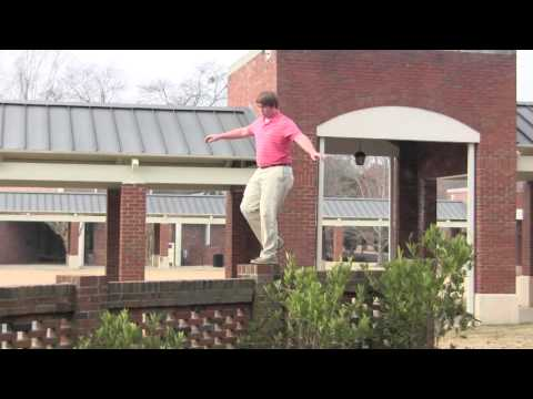 How to Parkour at Brookstone School - HD