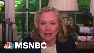 Hillary Clinton: Putin Is The Great Disrupter | MSNBC