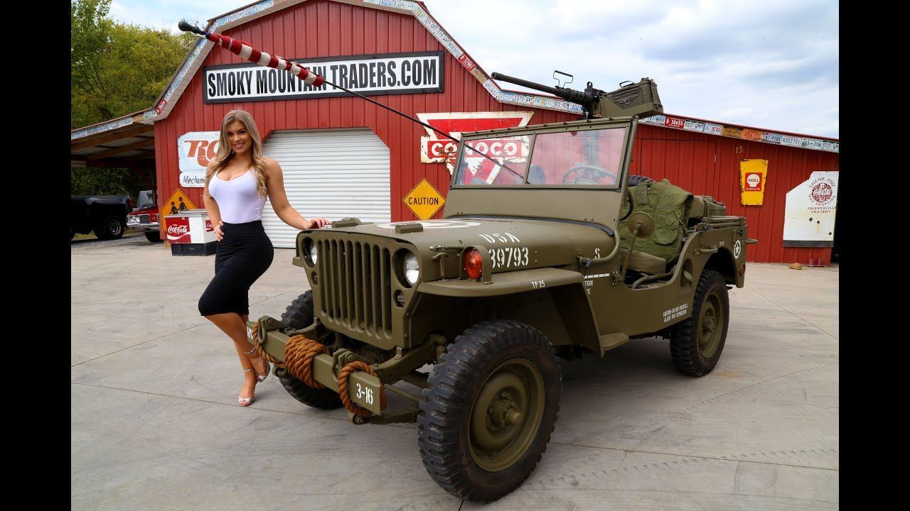 1947 Army Jeep For Sale Youtube