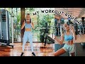 MY WORKOUT ROUTINE (what i do at the gym)