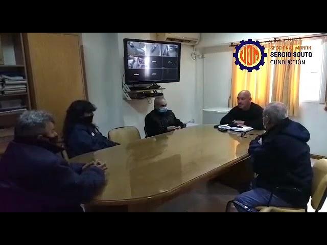 Conflicto   Reunión comisión interna Lisistell
