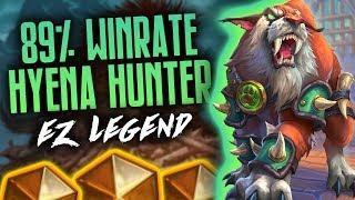EZ Legend with Hyena Halazzi Midrange Hunter | 89% Winrate | Rastakhan