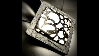 A Simple Pendant - Playing with contrasting elements!