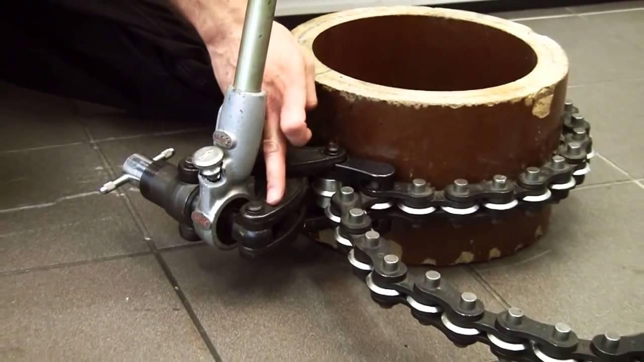 RIDGID Soil Pipe Cutters - YouTube