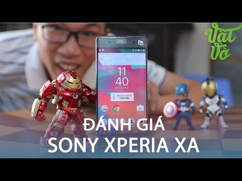 Vật Vờ| Đánh giá chi tiết Sony Xperia XA: đẹp quyến rũ, camera tốt, hiêu năng trung bình
