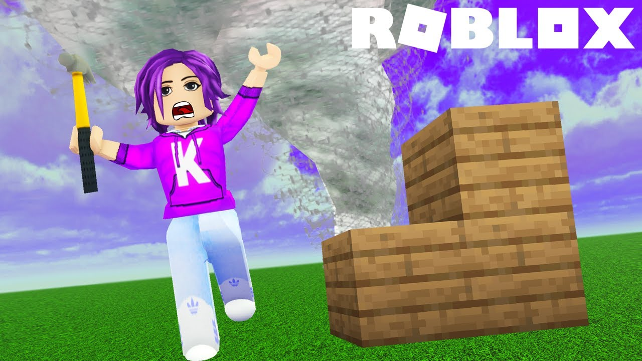 Can We Build to Survive a Natural Disaster?! 🌪️ | Roblox