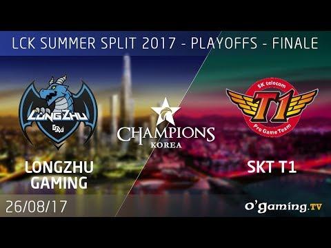 Longzhu Gaming vs SKT T1 - LCK Summer Split 2017 - Playoffs - Grande Finale - League of Legends