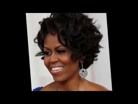 Hairstyles for Round Faces Black Women
