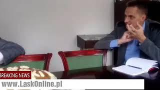 Rozmowa z burmistrzem Łasku i świadkiem ataku w kościele