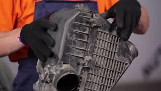 Cómo cambiar Filtro de aire en HONDA CR-V 2 [INSTRUCCIÓN]