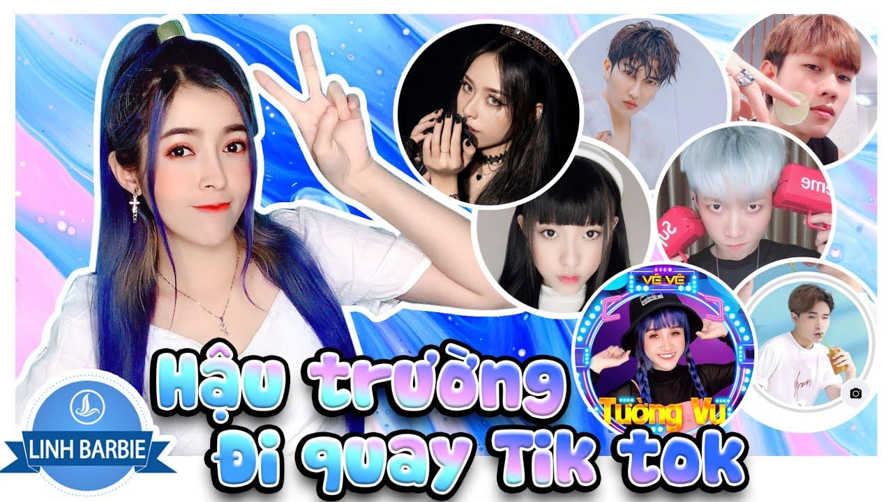 Một Ngày Cùng Team TikToker  - Hậu Trường Tik Tok 3 I Linh Barbie Vlog