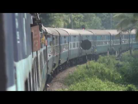 Varkala to Cochin by Train