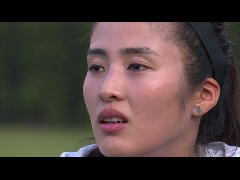 China goalkeeper rejected catwalk for football