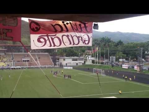 Gol (p.) de Leiner Rolong. Carabobo FC 1 - 0 Mineros 'B'