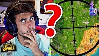 FIND FORTNITE'S - SECRET LOCATION! 😱 NOUVEAU MINIGAME