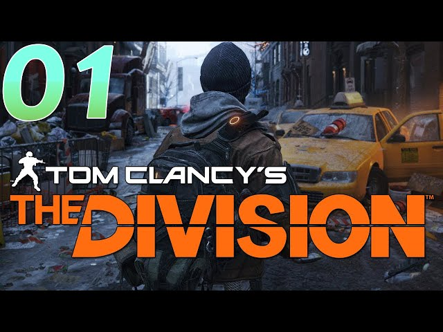 O Início: Intro, Customização e Tutorial - The Division #01