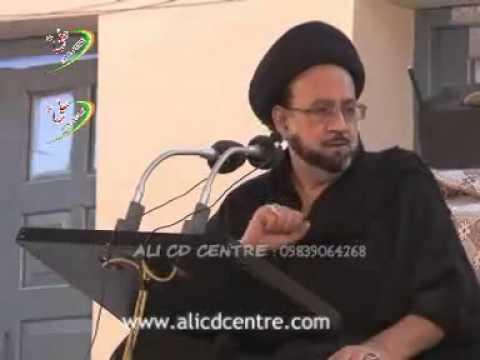 Maulana Agha Roohi - Shia College, Lucknow (8 Muharram 2012) 1434 Hijri