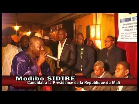 Arrivée de Modibo Sidibé à la rencontre avec les maliens à Paris [Campagne présidentielle]de YouTube · Durée:  8 minutes 7 secondes