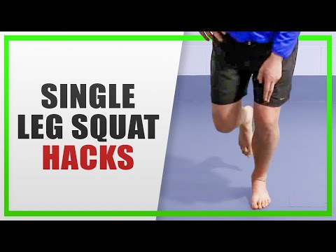 Single Leg Squats: Two Tips for Better Knee Control