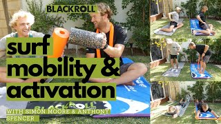 Surf Mobility & Activation with Simon & Anthony / Using BLACKROLL® Products
