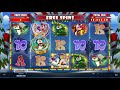 Holly Jolly Penguins Slot BIG - WIN & Game Play - by Microgaming