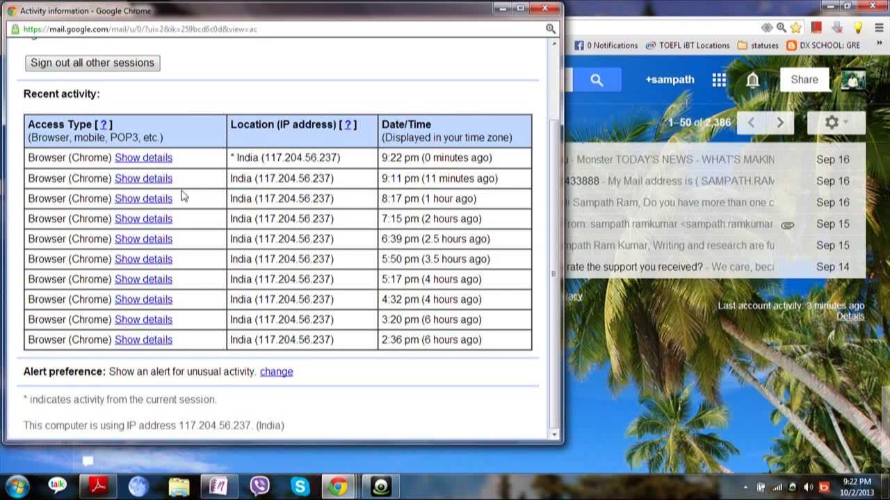 Enable/Disable Highly Secured way to Login to your Gmail account !! Must See .Share if you care - YouTube