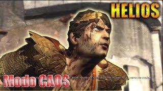 Helios en modo CAOS (Chaos) // Como derrotar a helios GOW3 (muerte de helios)