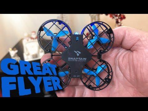 SNAPTAIN H823H Mini Drone , RC Nano Quadcopter Altitude Hold, Headless Mode, 3D Flips 14+