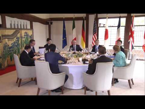 G7 LIVE Working lunch