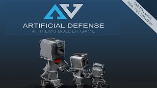 """Artificial Defense PC Game Review / First Impression """"3 Genres In 1 Game!"""""""