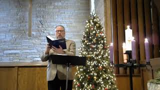 Carols With Pastor Jonathan Wilson and the Organ