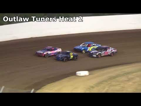 Grays Harbor Raceway, August 26, 2017, Outlaw Tuners Heat Races 1 and 2