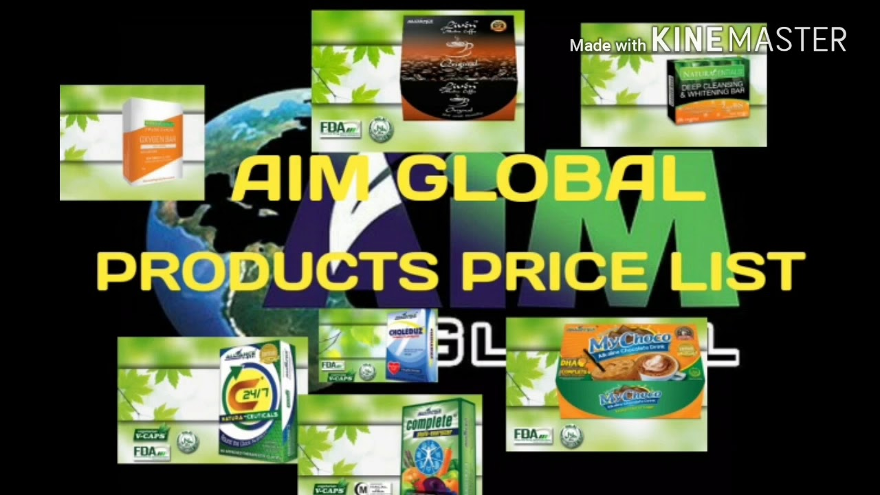 Aim Global Products Price List 2018 Aim World Youtube