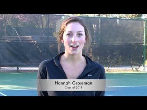Hannah Grossman - Tennis Recruiting - Class of 2018