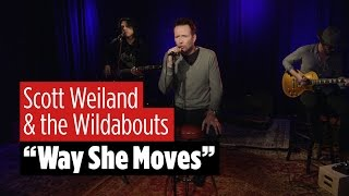 "Scott Weiland and the Wildabouts perform ""Way She Moves"""