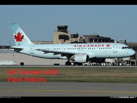Air Canada Airbus A320-200 Fleet History (1990-Present)