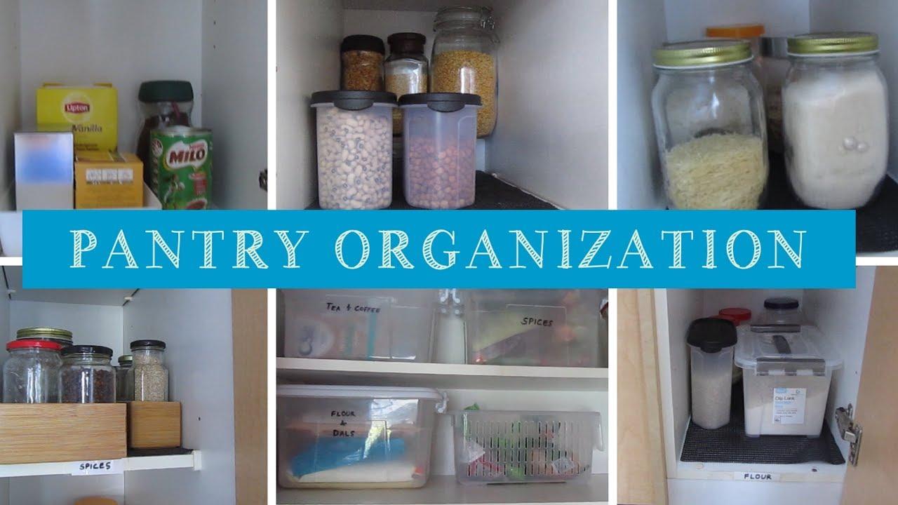 Pantry Organization | Kitchen Organization ideas | The Kitchen Club ...