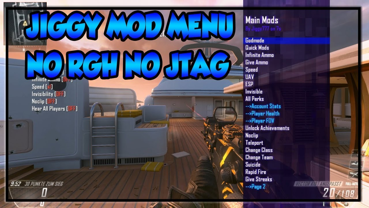 How to get bo2 mod menu | BO2  2019-03-15