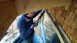 Installing Drip Cap Ramblings - 64 - My Diy Garage Build Hd Time Lapse