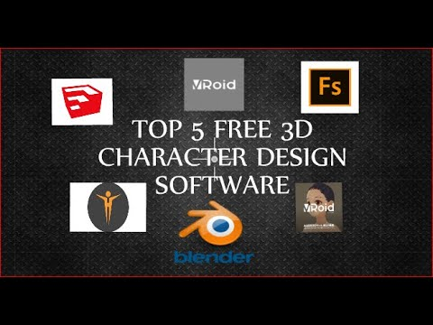 Top 5 Free 3d Character Design Software Youtube
